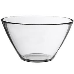 Salaterka szklana okrągła Basic 17 cm