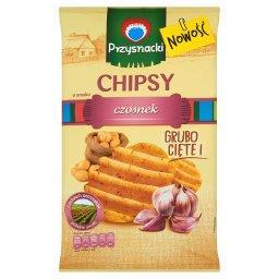 Chipsy o smaku czosnek