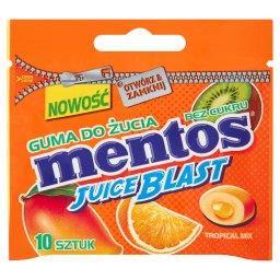 Juice Blast Owoce Tropikalne Guma do żucia bez cukru  (10 sztuk)