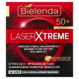Laser Xtreme Innowacja 50+ Liftingująco-wygładzający korektor zmarszczek na dzień