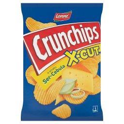 X-Cut Chipsy ziemniaczane o smaku ser-cebula