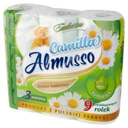 Camilla Papier toaletowy rumiankowy 9 rolek