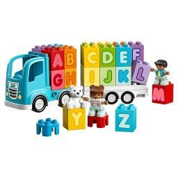 Duplo My First Ciężarówka z alfabetem 10915