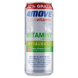 Active Vitamin Witalność Napój gazowany smak limonki...