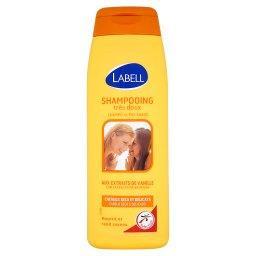 Bardzo łagodny szampon z ekstraktem z wanilii dla włosów suchych i delikatnych