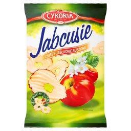 Jabcusie Chipsy jabłkowe suszone
