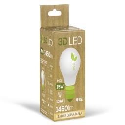 Żarówka E27 LED 15W (120W) 3000K żarówka A60