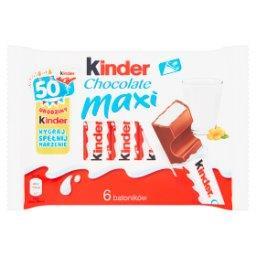 Chocolate Maxi Batoniki z mlecznej czekolady z nadzieniem mlecznym