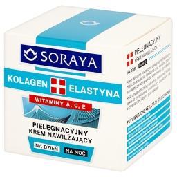 Kolagen + Elastyna Przeciwzmarszczkowy krem tłusty n...