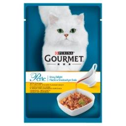 Perle Karma dla kotów mini fileciki w smakowitym sosie z kurczakiem