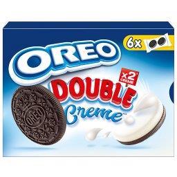 Double Ciastka kakaowe z nadzieniem o smaku waniliow...