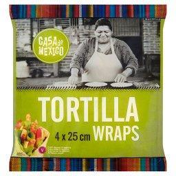 Tortilla wrap 25 cm  (4 sztuki)