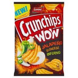 Wow Grubo krojone chipsy ziemniaczane o smaku pikant...