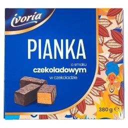Pianka o smaku czekoladowym w czekoladzie