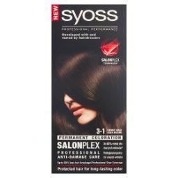 SalonPlex Farba do włosów ciemny brąz 3-1
