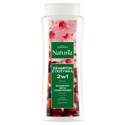 Naturia Szampon z odżywką 2w1 wiśnia