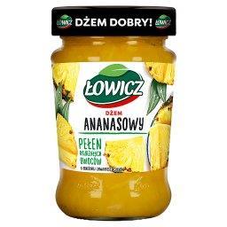 Dżem ananasowy o obniżonej zawartości cukrów 280 g