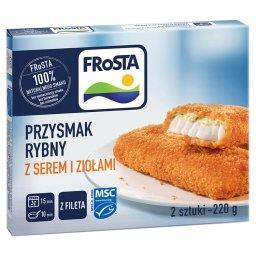 Przysmak rybny z fileta z serem i ziołami  (2 sztuki...