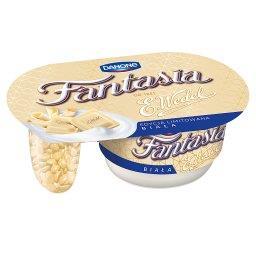 Fantasia biała Jogurt kremowy z kawałkami białej cze...