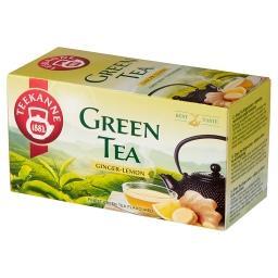 Herbata zielona o smaku imbiru i cytryny 35 g (20 x )
