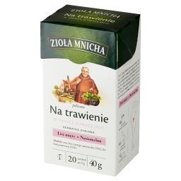 Zioła Mnicha Herbatka ziołowa na trawienie 40 g (20 ...