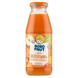 Sok 100% jabłko brzoskwinia marchewka winogrona po 6...