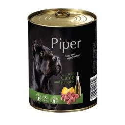 Mokra karma dla psa Piper Animals z dziczyzną i dynią 400 g