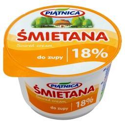 Śmietana do zupy 18% 200 g
