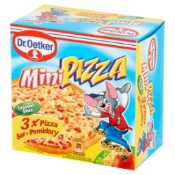 Mini pizza ser + pomidory  (3 sztuki)