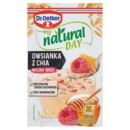 My Natural Day Owsianka z chia malina-miód