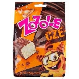 Cze-kole Cukierki w czekoladzie z orzeszkami arachidowymi i płatkami pszennymi