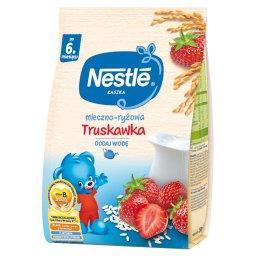 Kaszka mleczno-ryżowa truskawka dla niemowląt po 6. ...