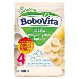 Kaszka mleczno-ryżowa banan po 4 miesiącu 460 g (2 x...