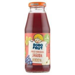 100% sok jabłko winogrona jagoda po 4. miesiącu