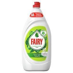 Clean & Fresh Jabłko Płyn do mycia naczyń 1350ML