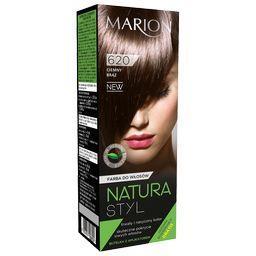 Farba do włosów Natura Styl, Ciemny brąz 620