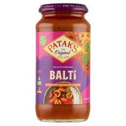 Balti Sos pomidorowy z dodatkiem papryki i kolendry