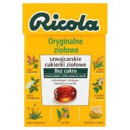 Oryginalne ziołowe szwajcarskie cukierki ziołowe