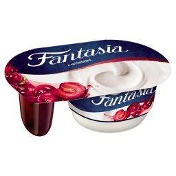 Jogurt kremowy z wiśniami