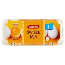 Świeże jaja z chowu klatkowego L 10 sztuk