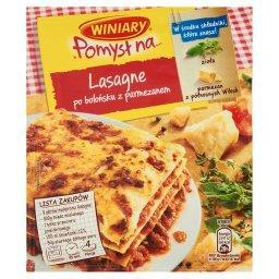 Pomysł na... Lasagne po bolońsku z parmezanem