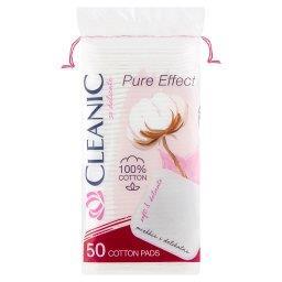 Pure Effect Płatki kosmetyczne kwadratowe 50 sztuk