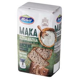 Mąka z żyta krzyca pełnoziarnista