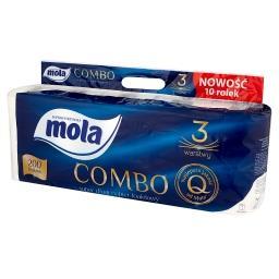 Combo Papier toaletowy 10 rolek