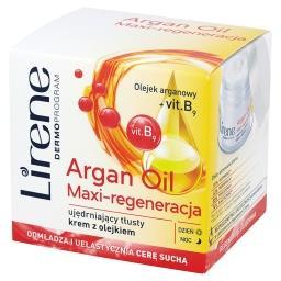 Dermoprogram Argan Oil Maxi-regeneracja Ujędrniający tłusty krem z olejkiem