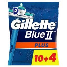 Blue II Plus Maszynki jednorazowe dla mężczyzn 14 sz...