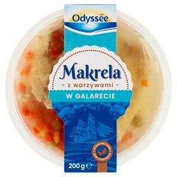 Makrela z warzywami w galarecie