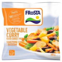 Warzywne curry z batatami