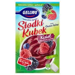 Słodki Kubek Kisiel z kawałkami owoców smak owoce le...