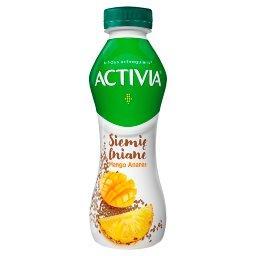 Activia Jogurt siemię lniane mango ananas